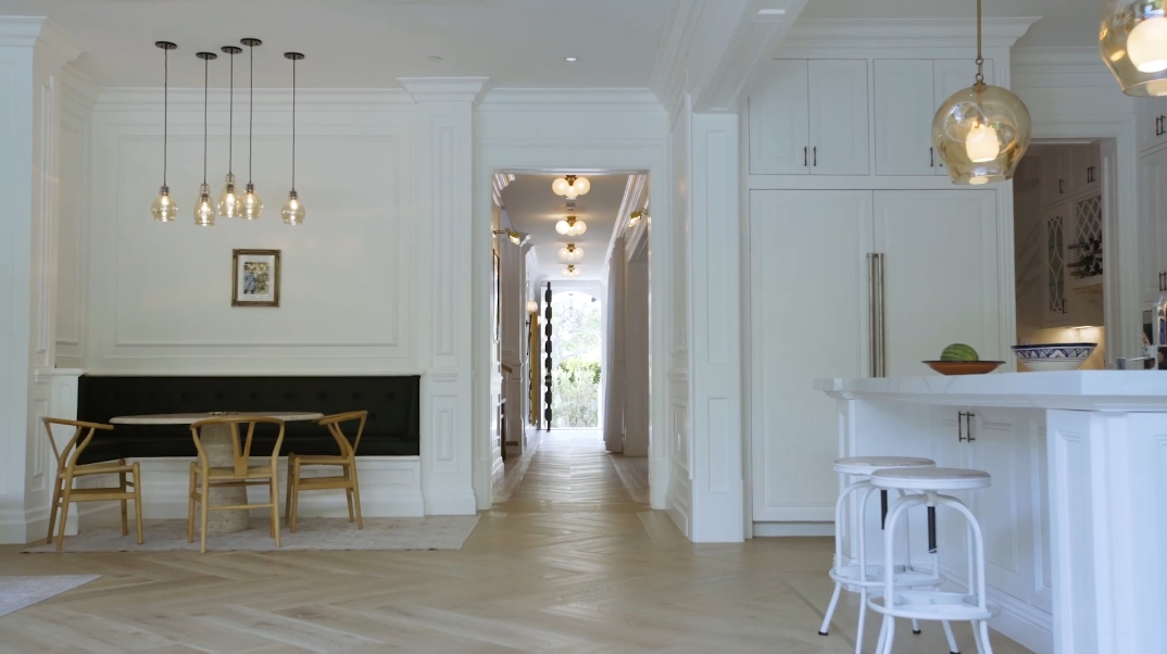 47 Interior Photos vs. Tour 848 N Genesee Ave, Los Angeles, CA Luxury Home