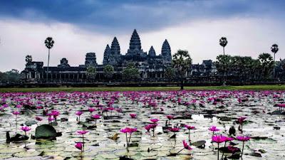 Una nueva vista de Angkor, más bucólica si cabe.