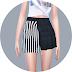 Half Pleats Skirt_하프 플리츠 스커트_여자 의상