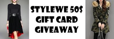 Stylewe 50$ giftcard