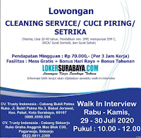 Walk In Interview at CV. Trusty Indonesia Jawa Timur Juli 2020