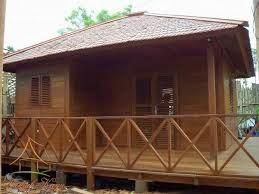 desain rumah kayu pilihan