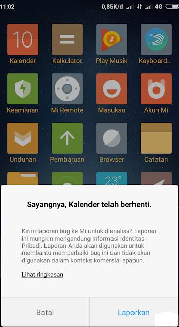 cara mengatasi Kalender Xiaomi Tidak Bisa Dibuka
