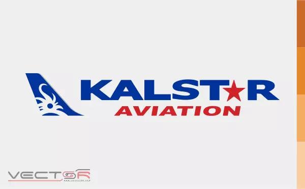 Kalstar Aviation (Horizontal) Logo - Download Vector File AI (Adobe Illustrator)