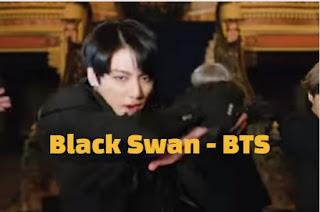ترجمة وكلمات اغنية Black Swan BTS 방탄소년단
