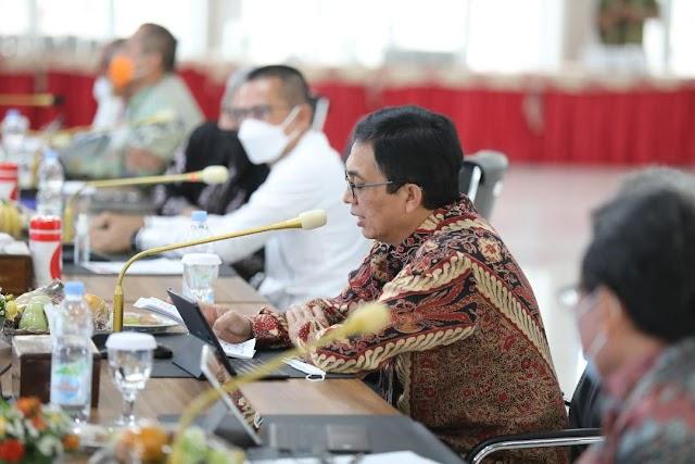 Wagub Dukung BPKP Tingkatkan Pengawasan Pembangunan Pariwisata Sumut