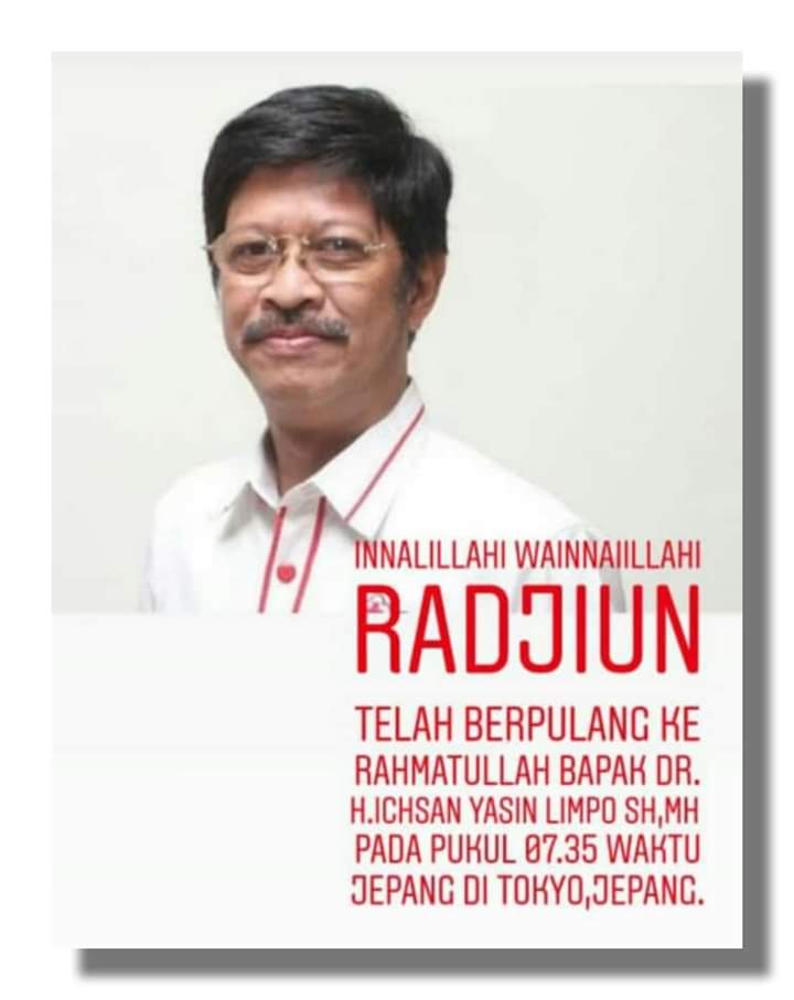 Bupati Sinjai Turut Berduka atas Berpulangnya Ichsan Yasin Limpo