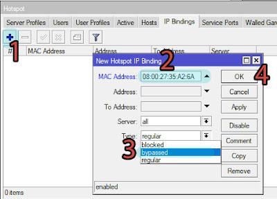 IP Binding Mikrotik