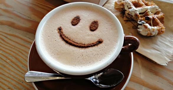 Delicious Smiley Face Coffee