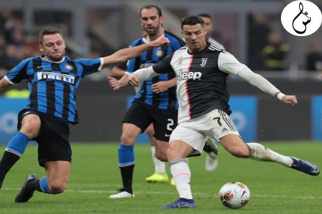 يوفنتوس وإنتر قام بتأجيل 5 مباريات بالدوري الإيطالي بسبب كورونا