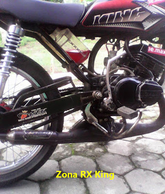 Botol Oli Samping RX King Modif