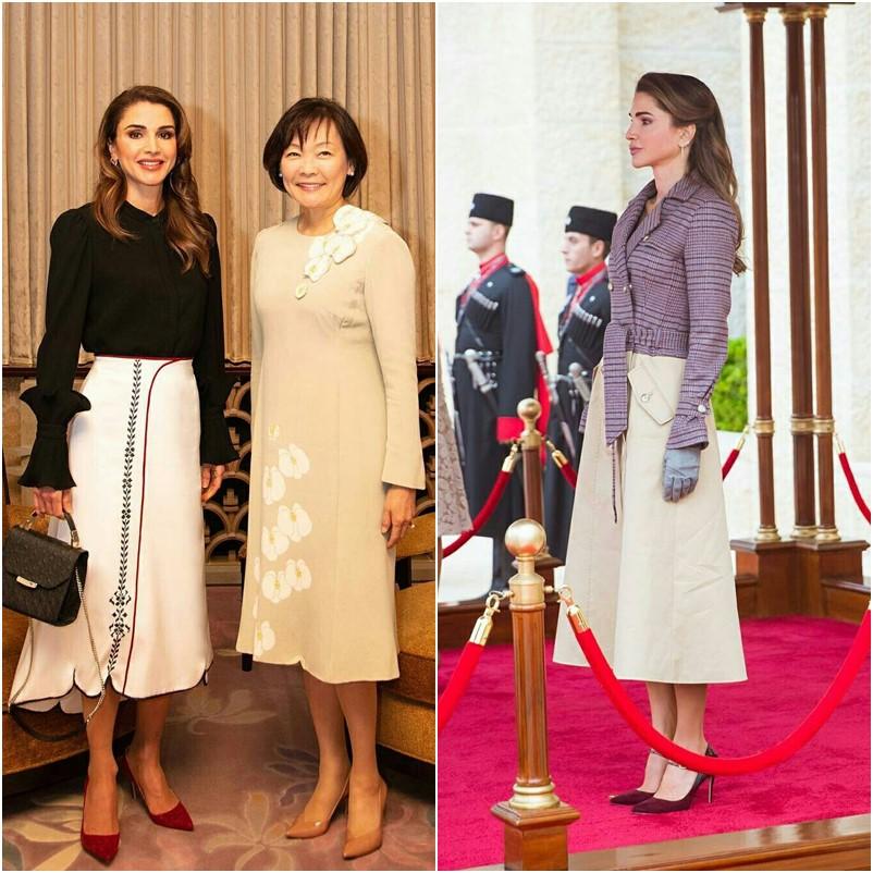 Os melhores looks da Rainha Rania da Jordânia
