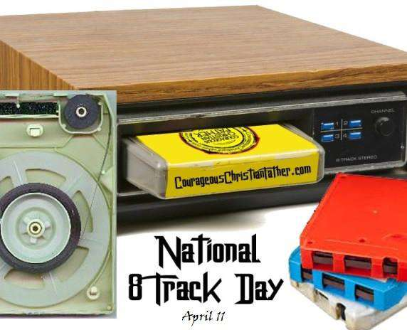 National Eight Track Tape Day Wishes Images download
