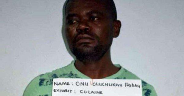 Nigerian man excretes 86 wraps of cocaine