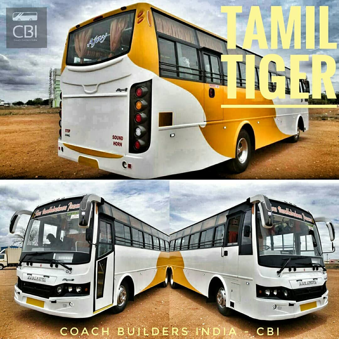 Coach Builders India Cbi Royal Coach Builders Best Coach Builders In Karur Tamil Nadu