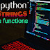 Python .string and it functions