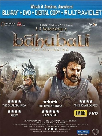Baahubali – The Beginning 2015 Hindi 720p BluRay 1.1GB