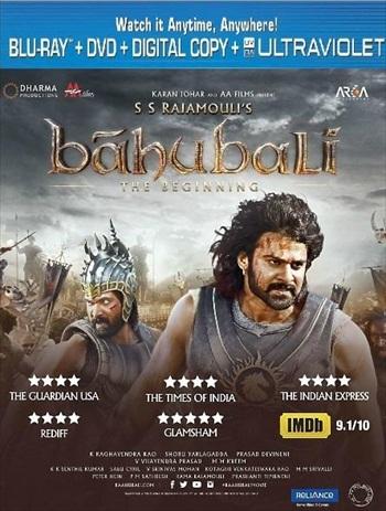 Baahubali - The Beginning 2015 Hindi Bluray Movie Download