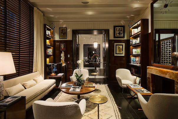 JK Place, Secret Atmosphere of Luxury Private Homes in a Very Stylish Hotel