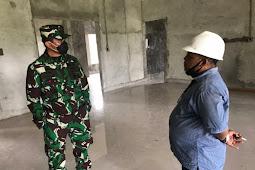 Tinjau Lokasi Pembangunan Mako Kogabwilhan III, Agus Rohman Harap Selesai Bulan Agustus