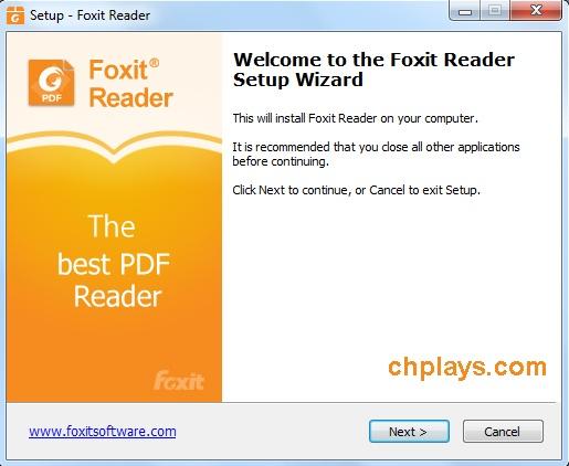Cài đặt Foxit Reader Full mới nhất trên máy tính 1