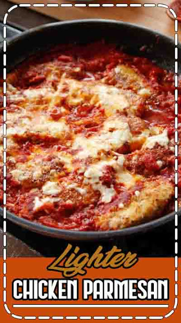 How to Make Delicious Lighter Chicken Parmesan - www.uniquegiftstips.com
