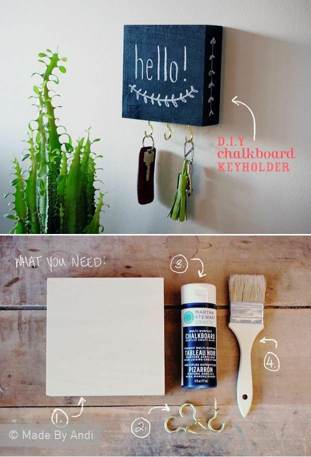 Casa organizada faz a vida fluir melhor e nós podemos fazer muitos organizadores com materiais simples e até com reaproveitamento.