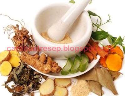 Foto Resep Obat Keputihan Sederhana Tradisional Alami Herbal di Rumah Berupa Minuman Jamu