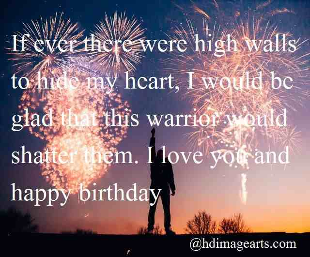 Happy Birthday Image For Him With Quotes