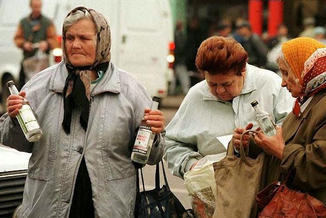 Aborto, divórcio, droga e álcool estão consumindo a população russa