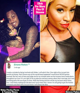 Waka Flocka Side Piece Simone Patton