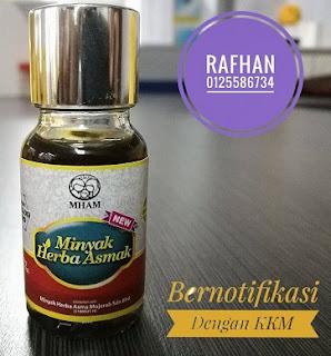 minyak asmak botol kecil