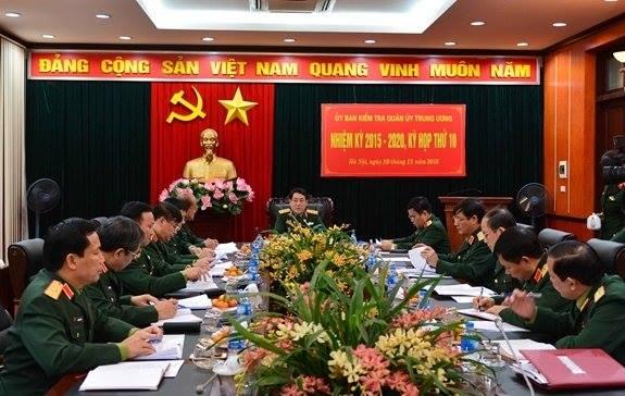Ủy ban Kiểm tra Quân ủy TW đề nghị tước quân tịch 5 quân nhân vi phạm