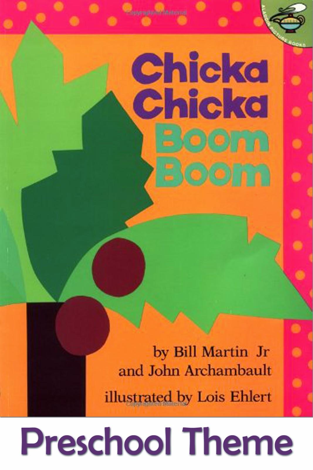 Mommy S Little Helper Chicka Chicka Boom Boom Preschool Theme