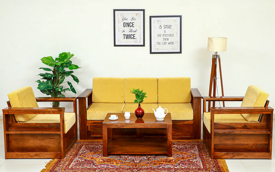Types Of Sofa Wooden