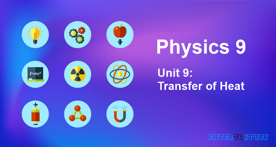 KIPS 9th Class Physics Notes Unit 9: Transfer of Heat
