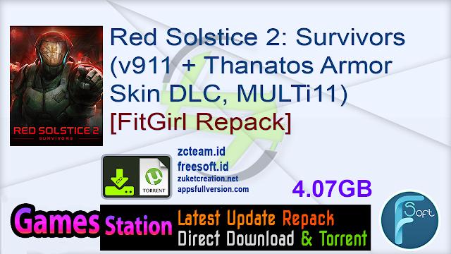 Red Solstice 2: Survivors (v911 + Thanatos Armor Skin DLC ...