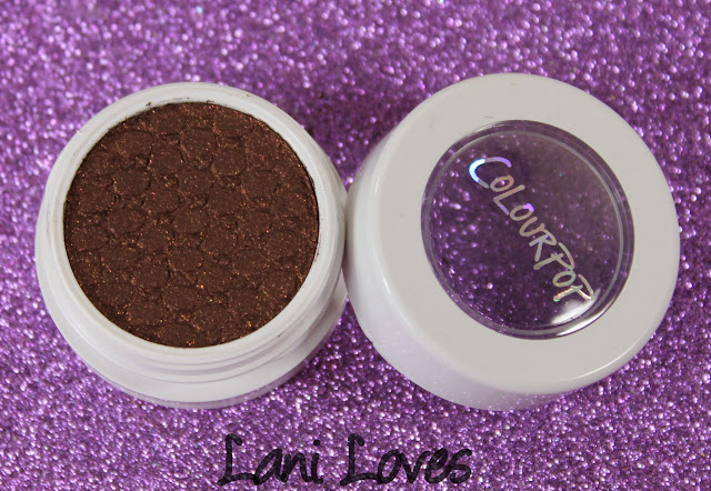 ColourPop Super Shock Shadow - Mooning Swatches & Review