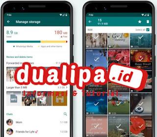 Fitur baru WhatsApp mempermudah pembersihan file penyimpanan