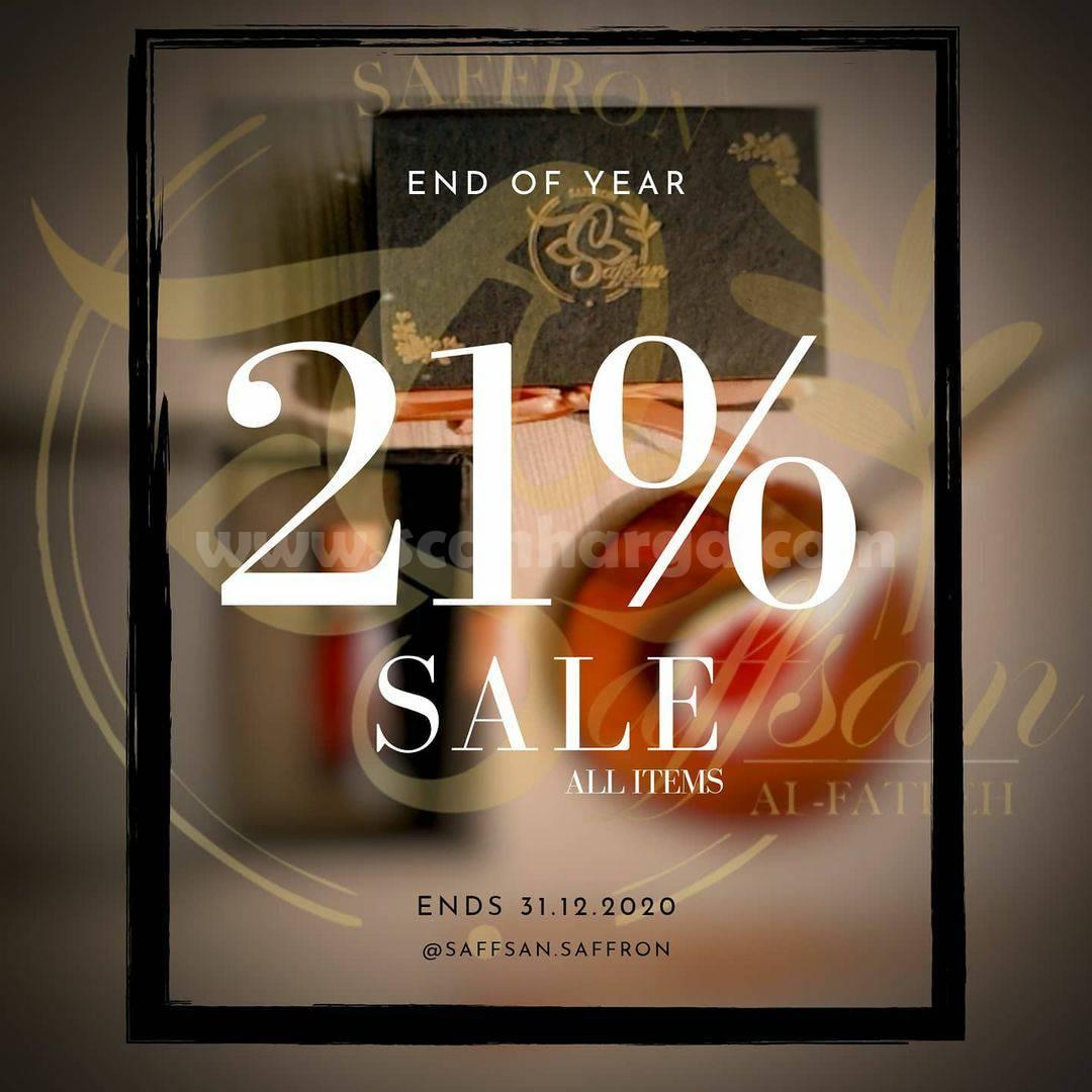 Promo Saffsan Saffron End Of Year Disc. 21% Sale All Items
