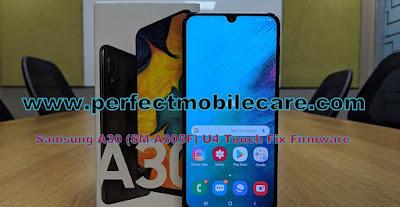 Samsung A30 (SM-A305F) U4 Touch Fix Firmware/Flash File Free Download