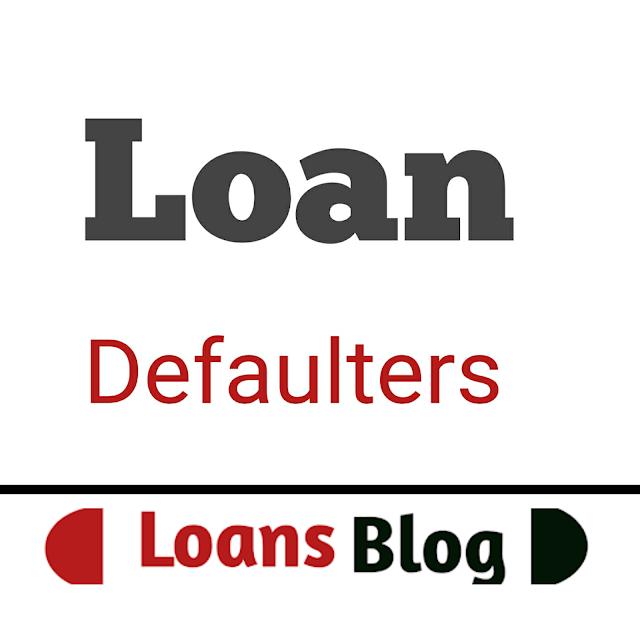 Loan defaulters