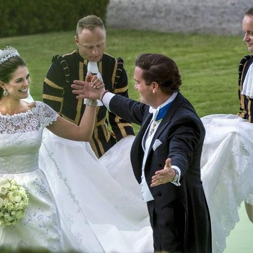 Niezapomniane momenty z królewskich ślubów - Madeleine i Christopher