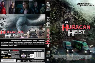 CARATULAEL GRAN HURACAN CATEGORIA 5 - THE HURRICANE HEIST 2018