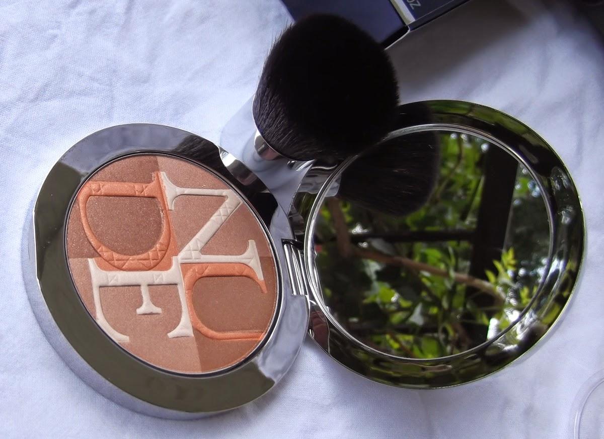 DIOR Diorskin Nude Shimmer  Poudre illuminatrice 002 Amber