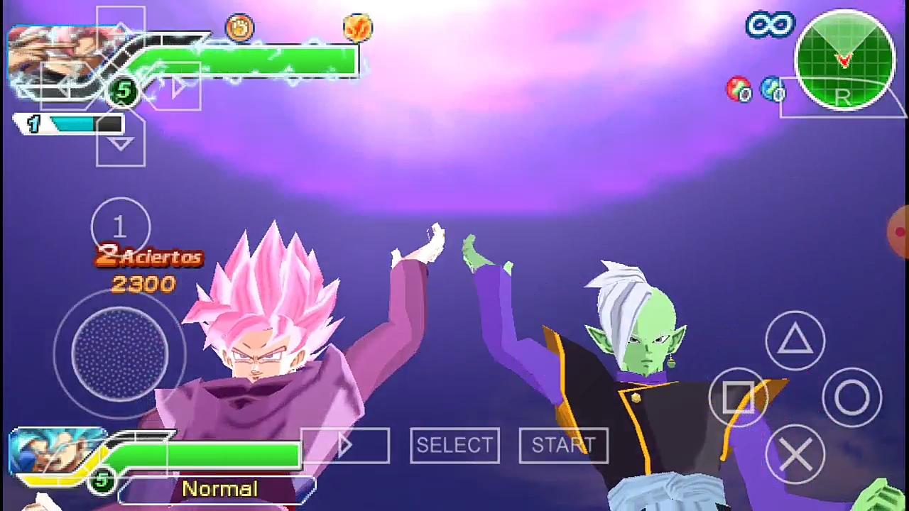 Dragon Ball Super Black Goku and Zamasu