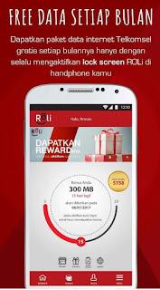 Cara Dapat Kuota Telkomsel Gratis dari Aplikasi ROLi Tutorial Mendapatkan Kuota Telkomsel Gratis dari ROLi