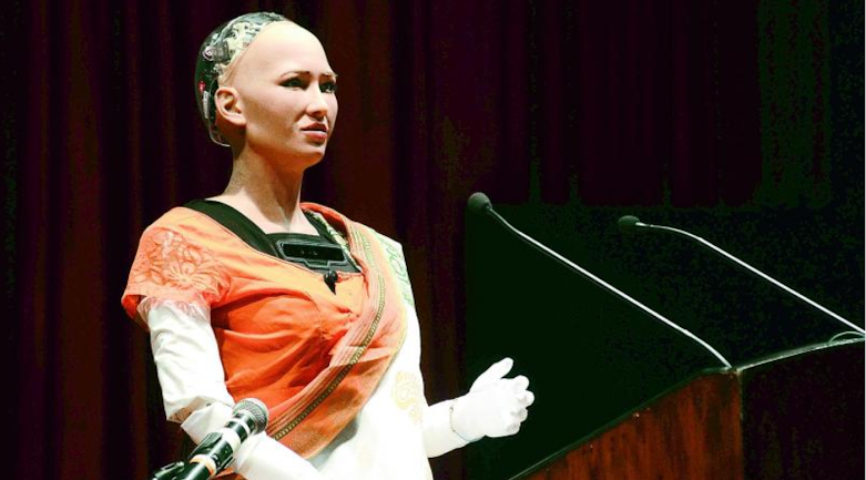 Sophia Robot citizenship