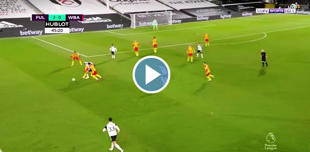 Fulham vs West Bromwich Albion Live Score