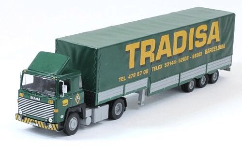 coleccion camiones articulados, camiones articulados 1:43, Scania LBT 141 camiones articulados